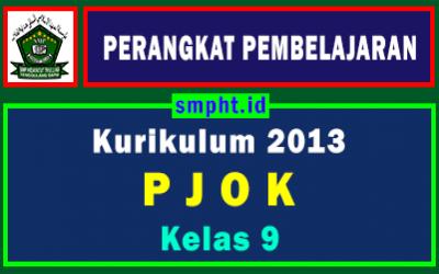 RPP 1 Lembar PJOK Kelas 9 Semester Ganjil Tahun 2021-2022