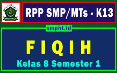 RPP Fiqih Kelas 8 Semester Ganjil Kurikulum 2013 Revisi 2020