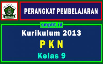 RPP 1 Lembar PKN Kelas 9 Semester Ganjil Tahun 2021-2022
