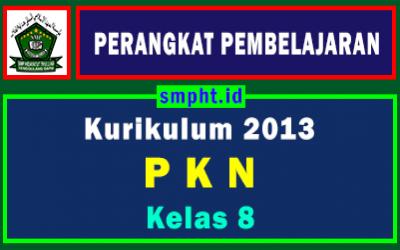 Lengkap Perangkat Pembelajaran PKN Kelas 8 Tahun 2021-2022