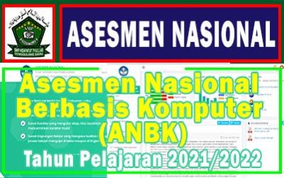Asesmen Nasional Berbasis Komputer (ANBK) Tahun 2021