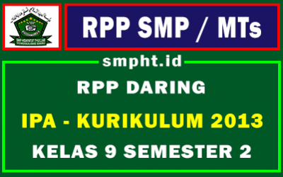 RPP IPA Daring SMP Kelas 9 Semester 2
