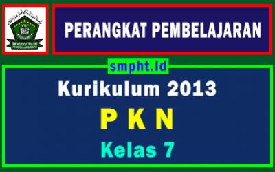 Lengkap Perangkat Pembelajaran PKN Kelas 7 Tahun 2021-2022
