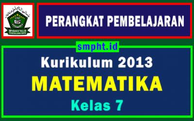 Lengkap Perangkat Pembelajaran Matematika Kelas 7 Tahun 2021-2022