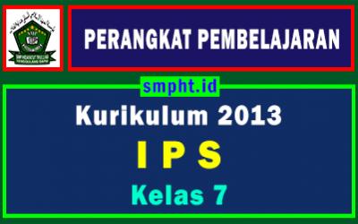 Lengkap Perangkat Pembelajaran IPS Kelas 7 Tahun 2021-2022